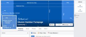 Ukuran Gambar Fanspage Facebook