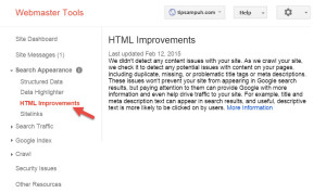 HTML Improvement - Google Tag Manager