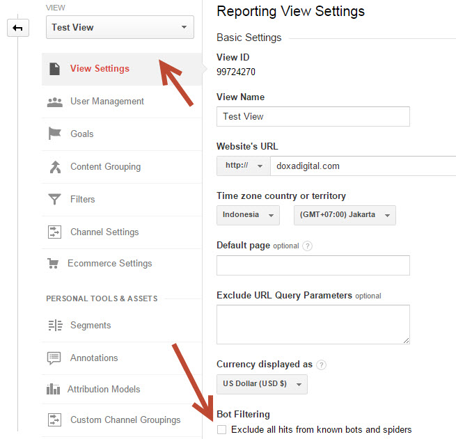 Exclude Spam Referral Google Analytics